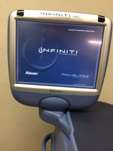 Alcon Infiniti Phaco Ozil Compatible Vision System with Footswitch and Remote