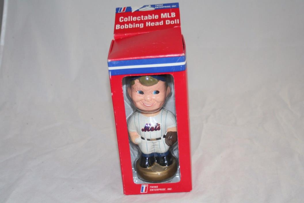 NEW YORK METS Bobbing Bobble Head  Bobblehead by Twins Enterprise Inc.