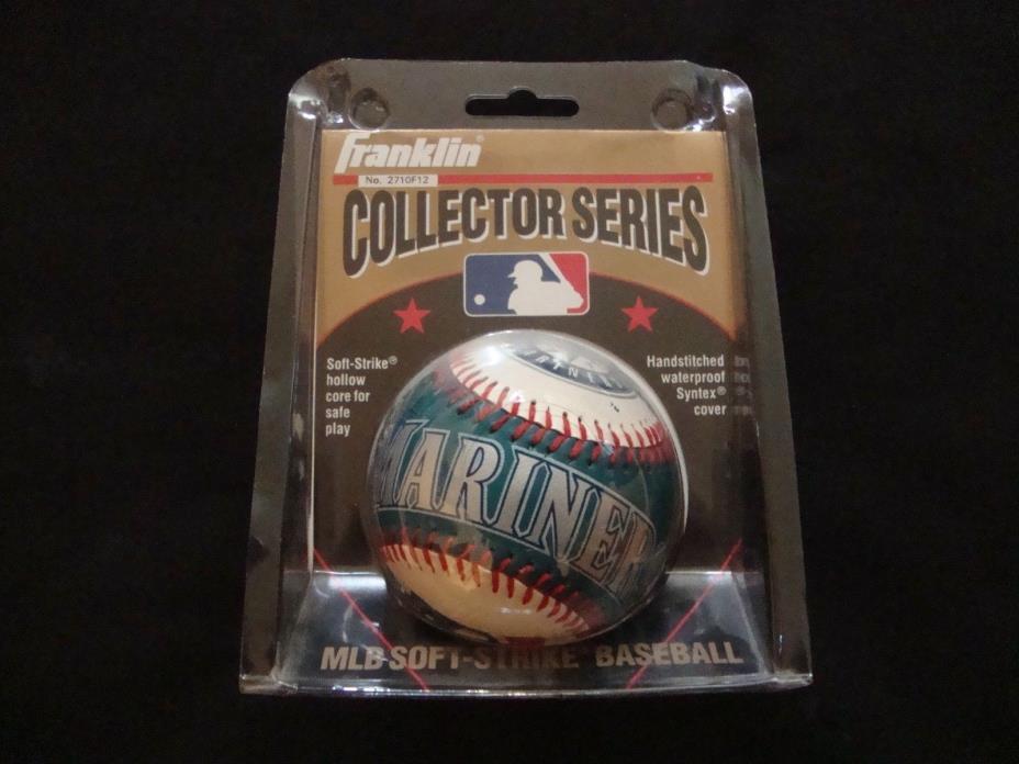 1995 Seattle Mariners Collector Series Franklin MLB Softstrike Baseball NIB