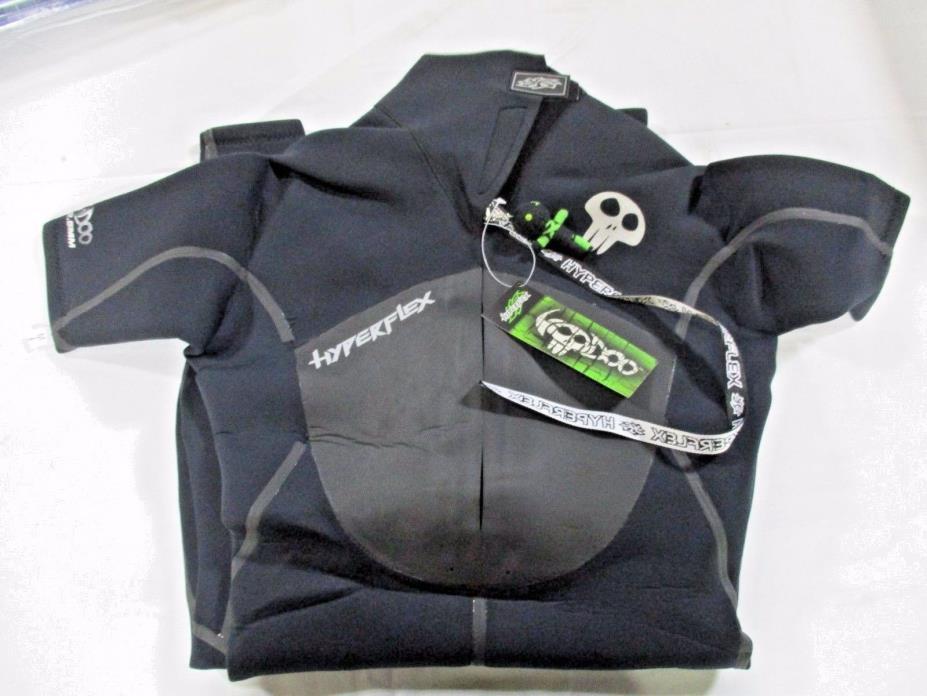 Hyperflex Voodoo XY825MB-10 Short Sleeve Full Men's Spring Wetsuit 2.5mm NEW
