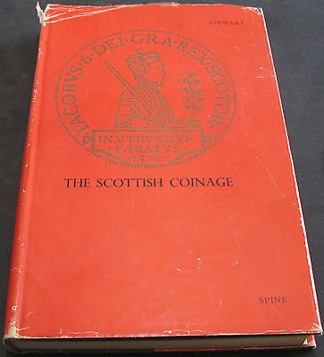 The Scottish Coinage With Supplement By Ian Halley Stewart 1967