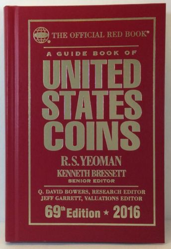 Whitman 2016 Red Book Hard Cover United States Coins Guide Book 69th Ed