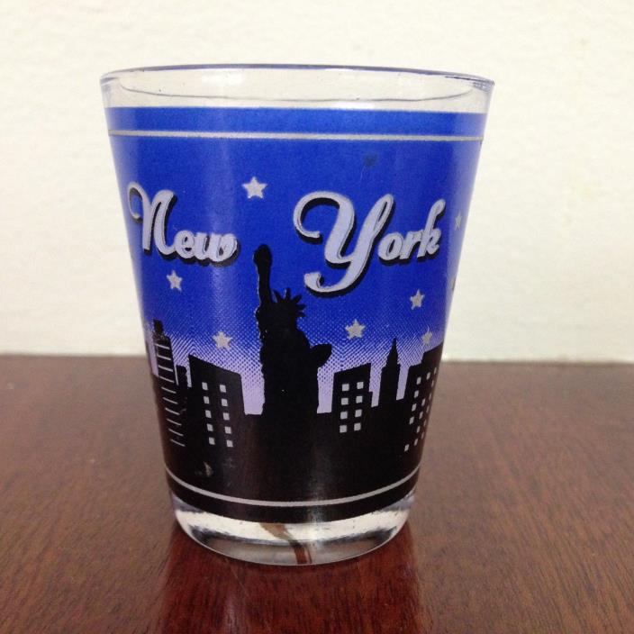 Shot Glass From New York City