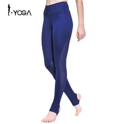 Fitness Women Sport Pants Training Athletic Sportswear Trousers Yoga Mesh Leggin