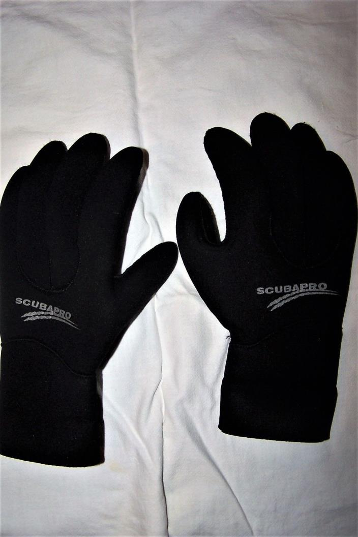 Scubapro semi-dry 3 mn scuba gloves - Size Small