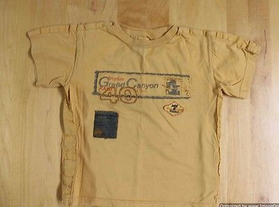 Marese France Boys T-Shirt Size 3a or 3T Gold/Yellow EXCELLENT!!