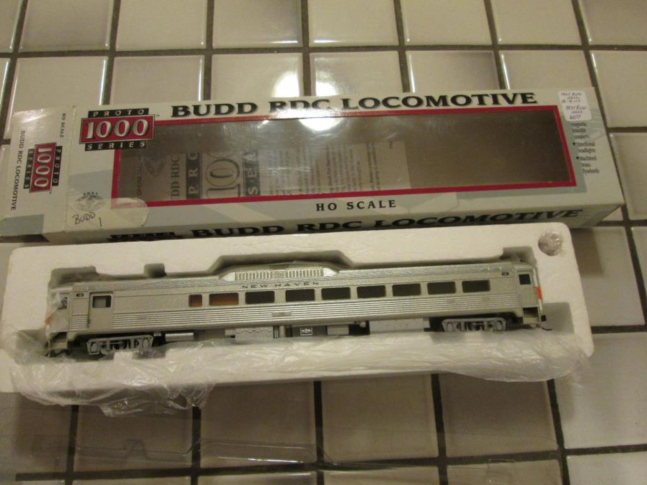 proto 1000 NEW HAVEN BUDD RDC powered engine HO scale