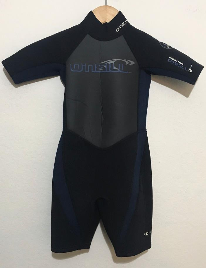 O'Neill Childs Spring Shorty Wetsuit Kids Size 4 REACTOR 2mm Youth Juniors