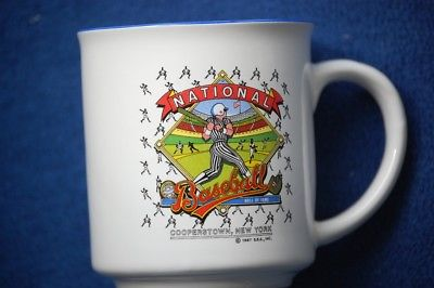 National Baseball Hall of Fame Mug 1987 Cooperstown, New York  S.S.S.  Vintage