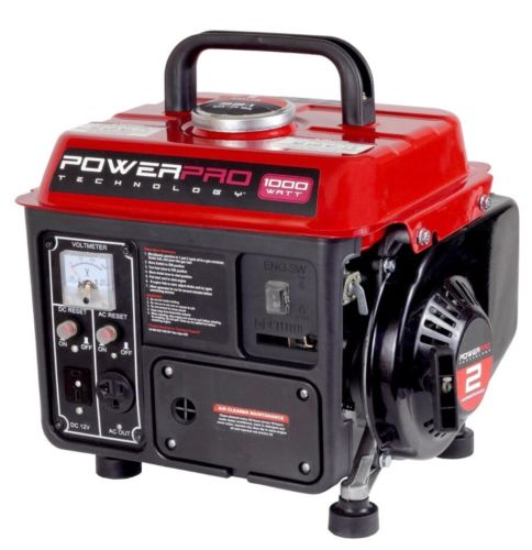Gas Powered Generator Power Outage