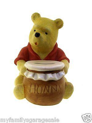 Classic Winnie The Pooh Piggy Bank Walt Disney Company Willitts Galleries