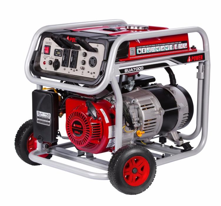 A-iPower Portable Generator 7000 Watts, Ships to Puerto Rico