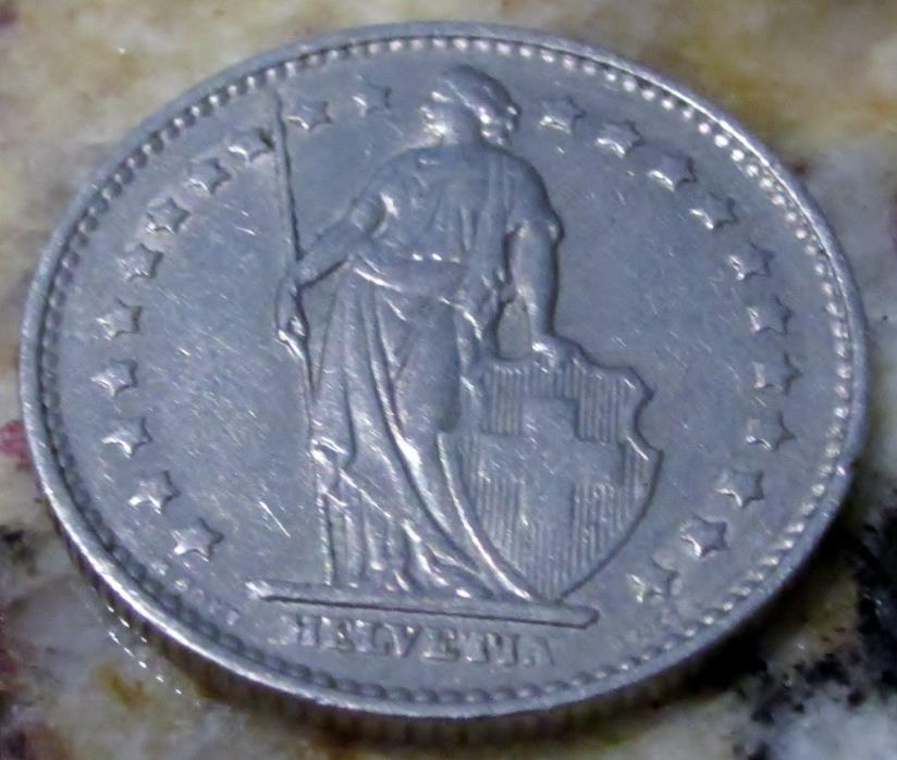 1969 Helvetta Coin - 1 FR