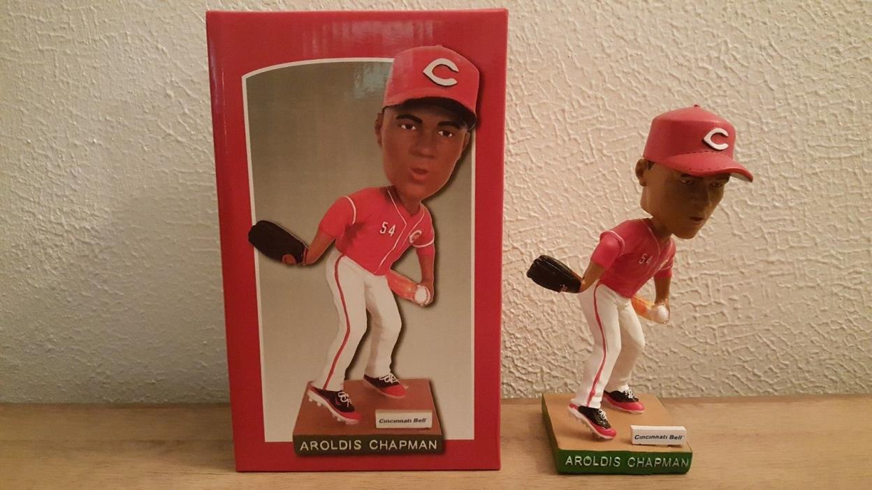 2013 Aroldis Chapman SGA Bobblehead Cincinnati Reds