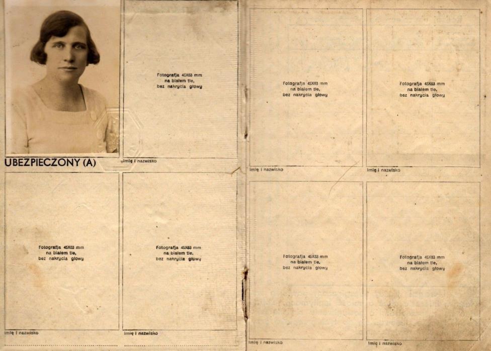 POLAND: INSURANCE ID - BYDGOSZCZ (# 4722) (1935)