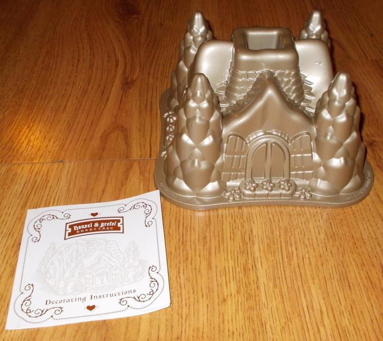 Bundt Cake Pan Williams Sonoma HANSEL AND GRETEL NordicWare  Mold Castle Recipes