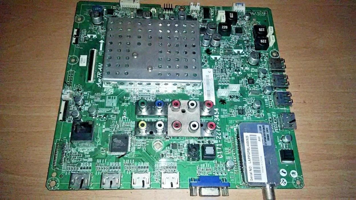 VIZIO  XVT3D554SV  MAIN BOARD  3655-0222-0150  0171-2272-3454