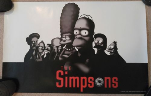 The Simpsons The Sopranos Mashup Poster Homer 22x34 Poster Print