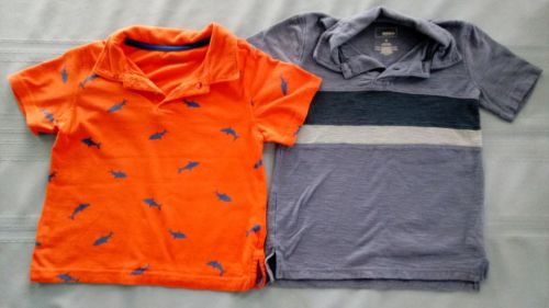 Toddler boy short sleeve shirts lot of 2