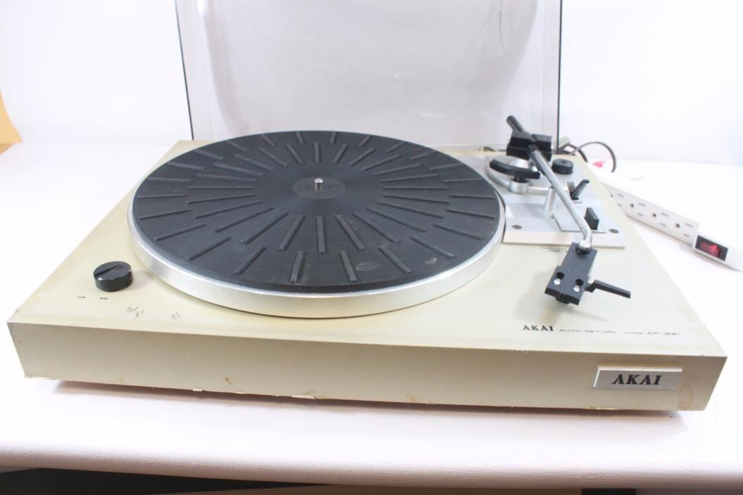 AKAI AP-B21,turn table for parts or repair. (ref A 306)