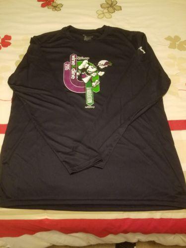 Run Disney Wine & Dine 2015 Race Tech Shirt Mens L