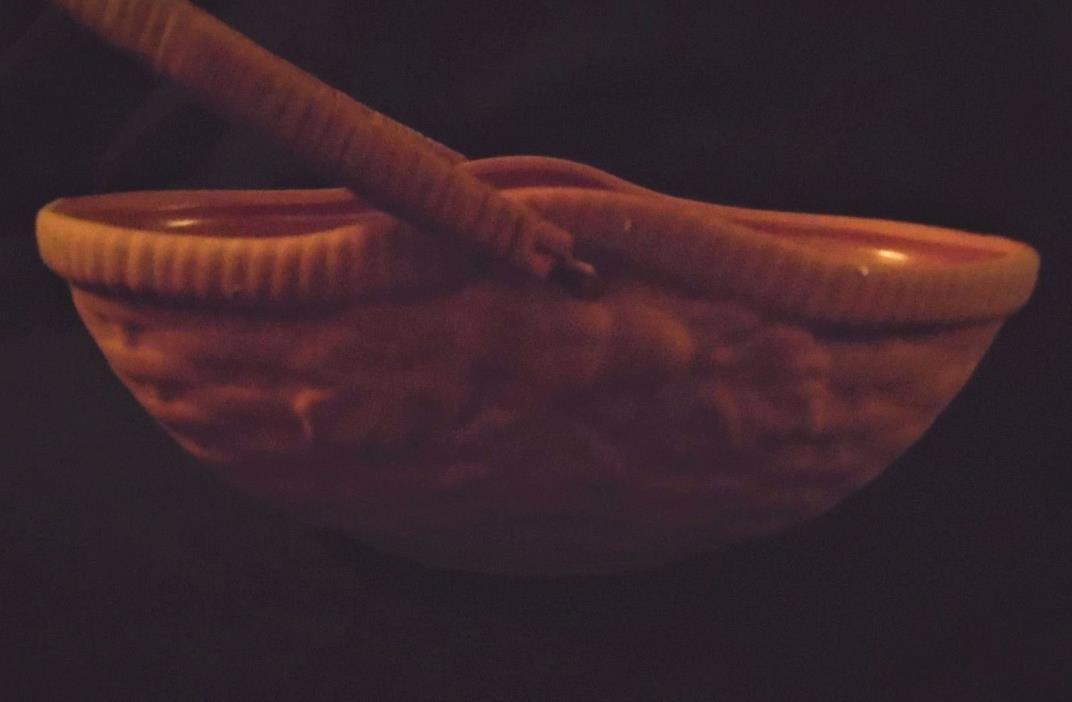 Vintage Clay Basket