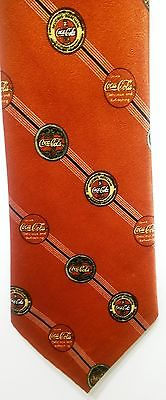 Coca Cola Tie Soda Fountain Soft Drink Delicious Refreshing Novelty Refreshment