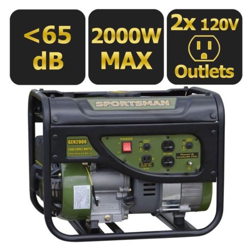 Sportsman 2000-Watt Portable Gas Generator NEW IN BOX