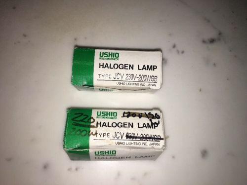 Ushio JCV 230v 200w Tungsten Bulbs