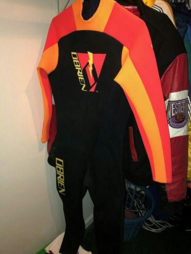 Vintage Obrien Lava Series Wet Suit Size Medium Rare Surf Ocean Canada America