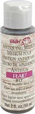 FolkArt Antiquing Medium 2oz Wooden Bucket Brown 028995008177