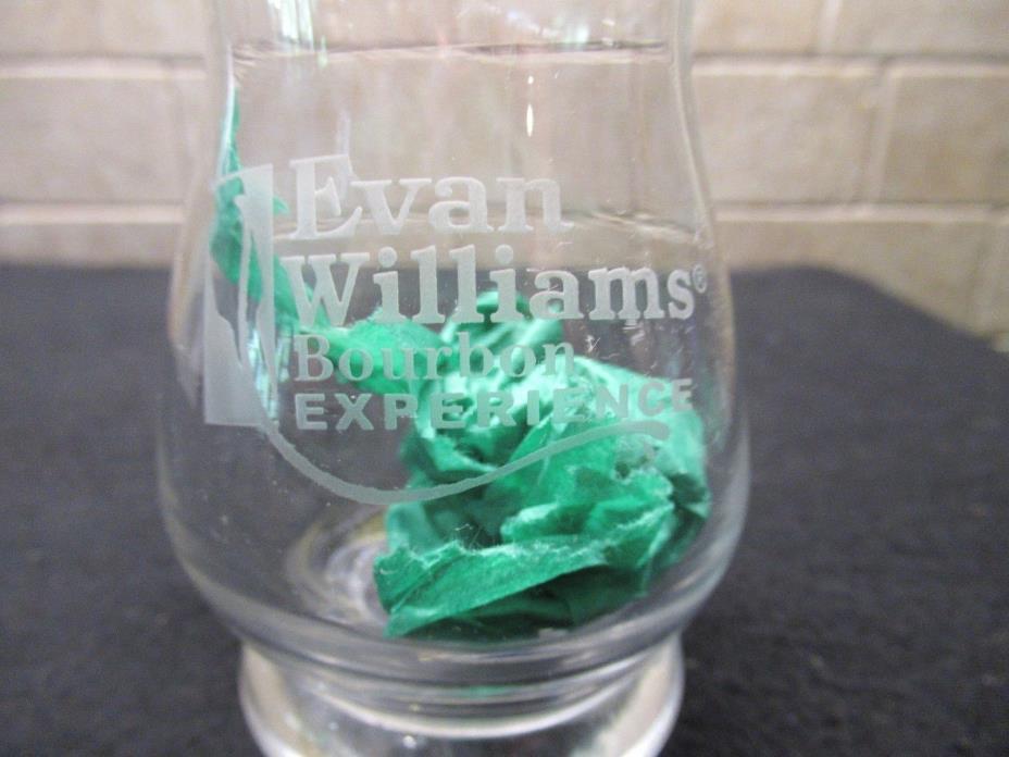 Evan Williams Kentucky Bourbon snifter glass
