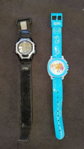 SHOPKINS COOKIE KID & STARWARS LCD DIGITAL WATCHES 100% ORIGINAL LICENSED
