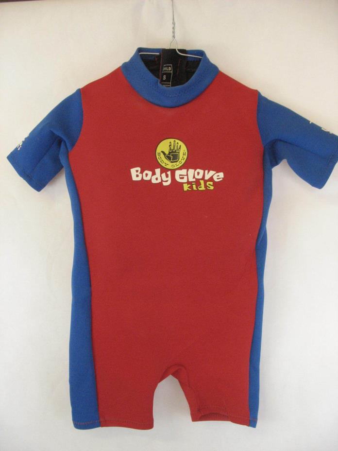 Body Glove Childs Size Small Life Preserver Flotation Wet Suit RED BLUE 30-40 LB
