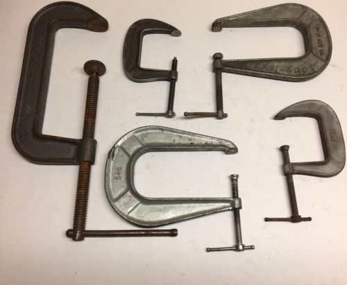5 Pc Industrial Grade USA made Clamps Aircraft Tools