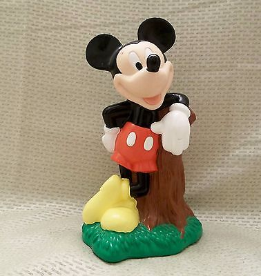 Disney's Mickey Mouse Hard Plastic Bank Just Toys Brand