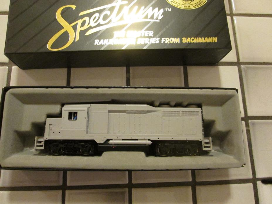 spectrum UNDECORATED powered engine HO scale