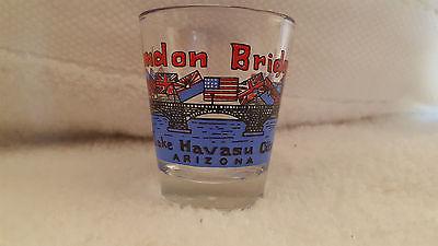 London Bridge Shot Glass Lake Havasu Arizona Souvenir