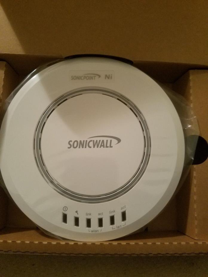 Dell SonicWALL SonicPoint 01-SSC-8574 Ni bundled with PoE injectors