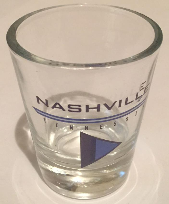 NASHVILLE Tennessee Shot Glass Collectible 1oz