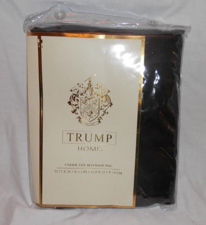 Trump Home Under the Bed Shoe Bag - Holds 12 pairs of shoes