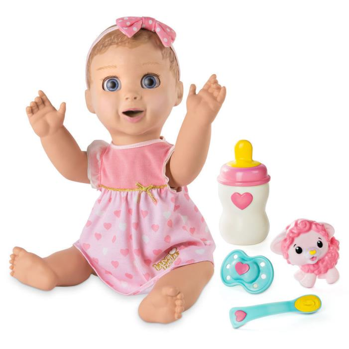NIB Luvabella Blonde Baby Girl Doll - FAST SHIP - 100% AUTHENTIC - BRAND NEW