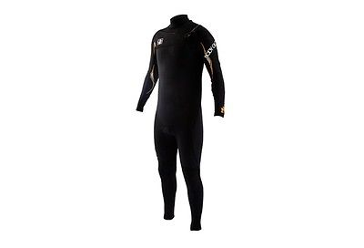 BODY GLOVE Men's 4.3mm VAPOR Slant-Zip Fullsuit - BLK - XXL - NWT