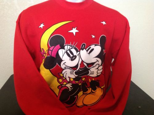 Mickey And Minnie Mouse Sweatshirt Disney XL