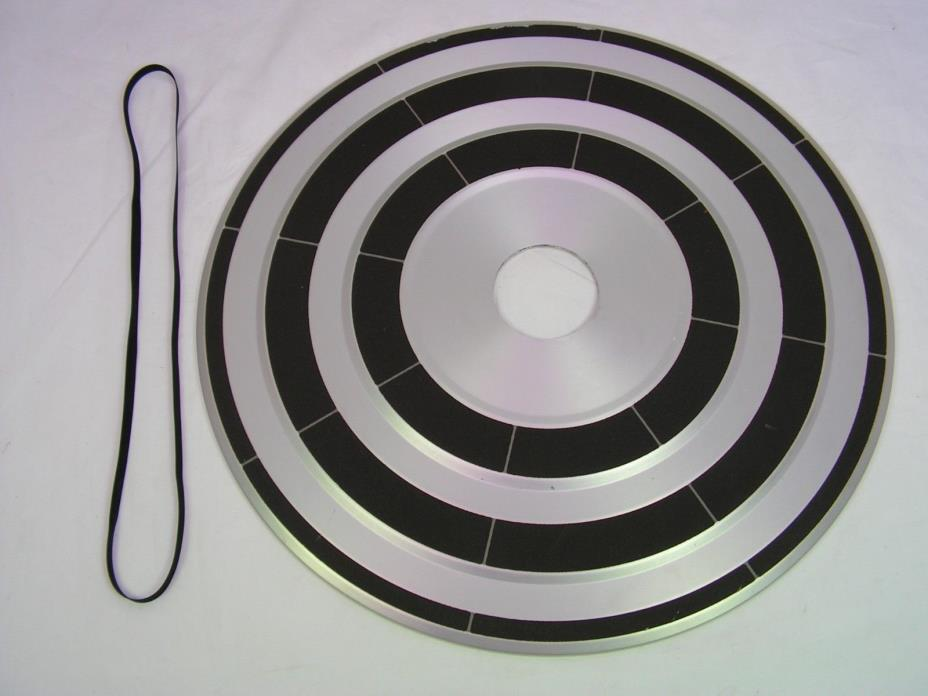 Bang & Olufsen B&O Platter & Belt part for Beogram 3400 Turntable