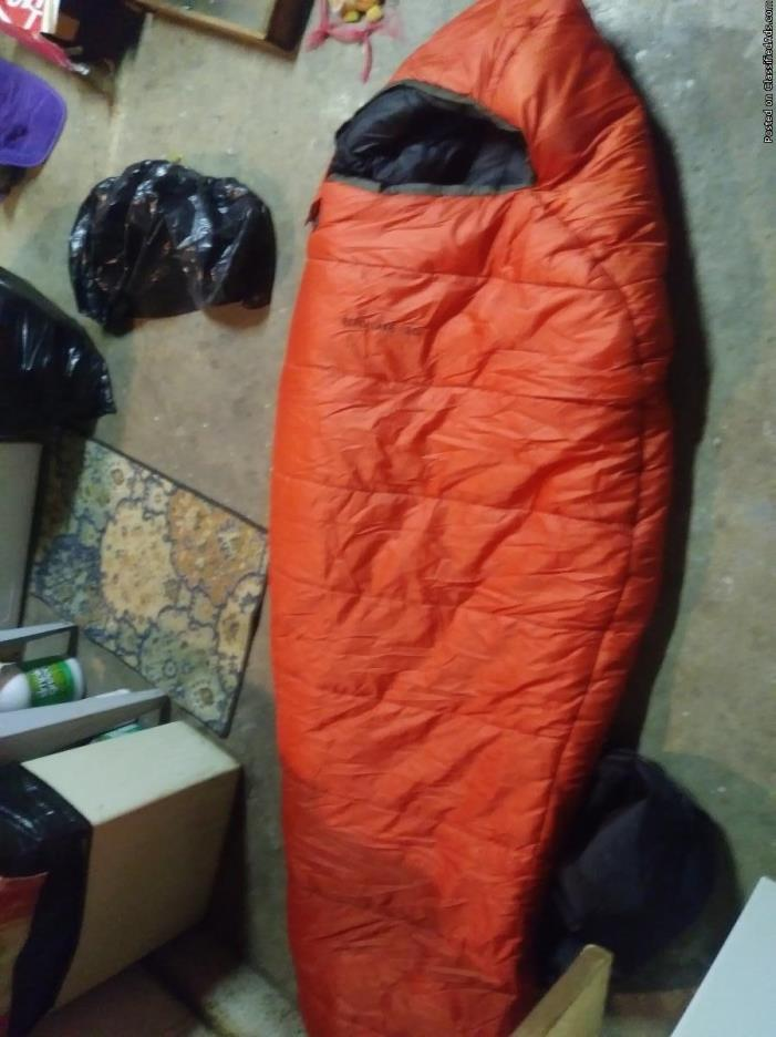 -20 degree sleeping bag(like new)