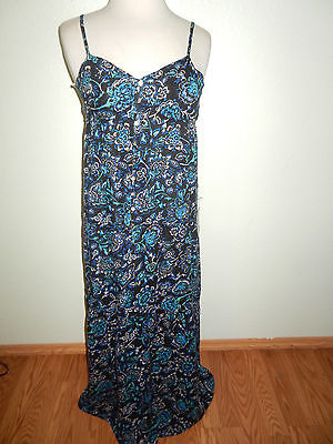 NEW FOREVER 21 FLORAL  LONG  SUMMER DRESS - SIZE XS