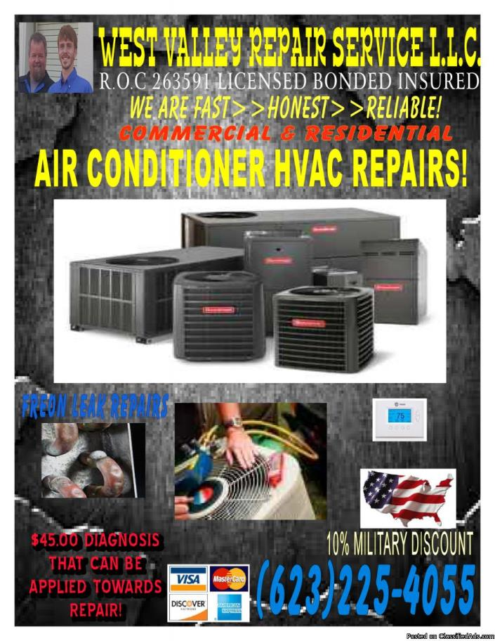 HvAC A/C needing Checked OUT Affordable LICENSED BONDED INSURED Call Us today
