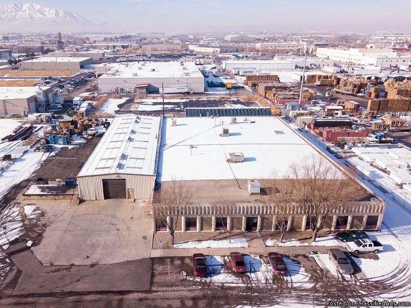 2930 W. Directors Row, Salt Lake City Industrial Facility with Yard