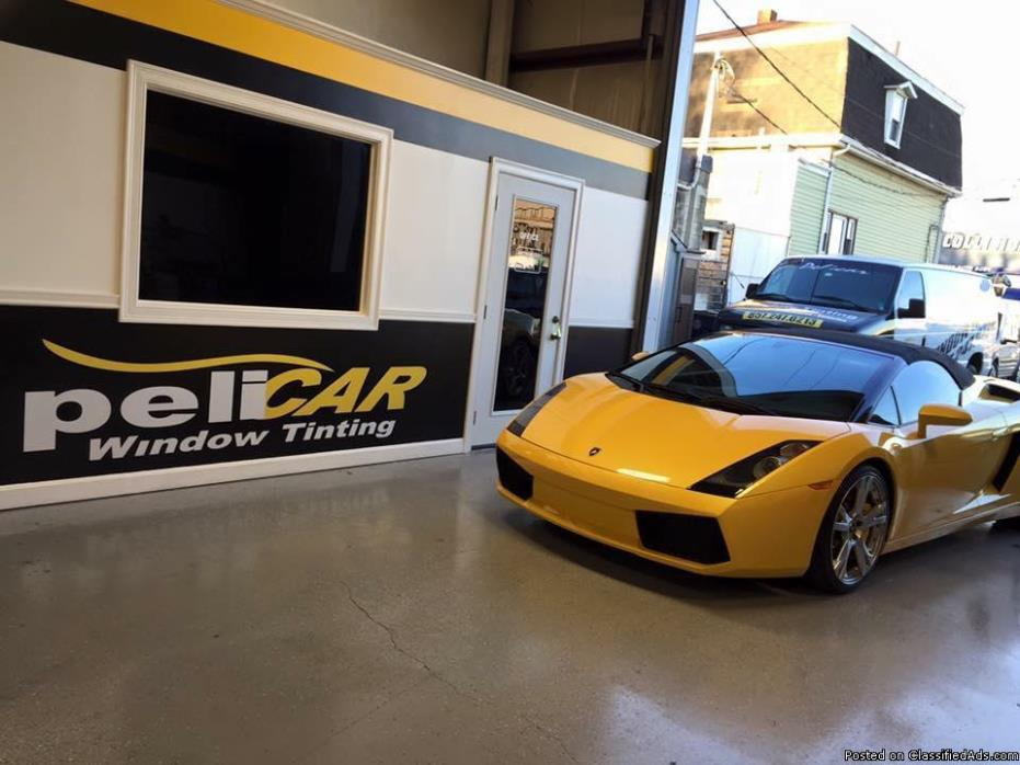 Pelicar window tinting and wrap!!!